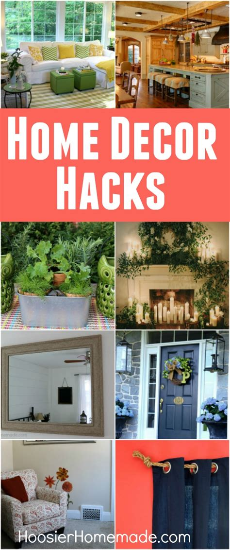 home decor hacks hoosier