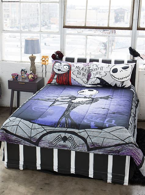 nightmare before christmas bedroom set the nightmare before christmas bedding set hot topic
