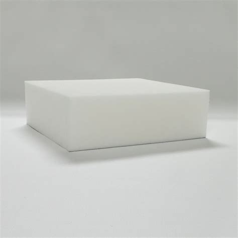 Custom Cut Upholstery Foam by Custom Cut 4 Inch Thick Soy Based 2 4 Ultra High