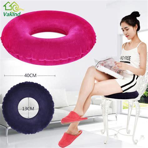 Cushion Bantal Natal 1 new cushion vinyl seat cushion hemorrhoid pillow sitting donut