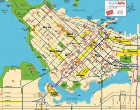 canada map vancouver
