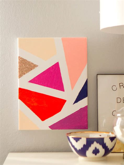 cool painting ideas for your sweet home diy modern mosaic painting shop sweet things