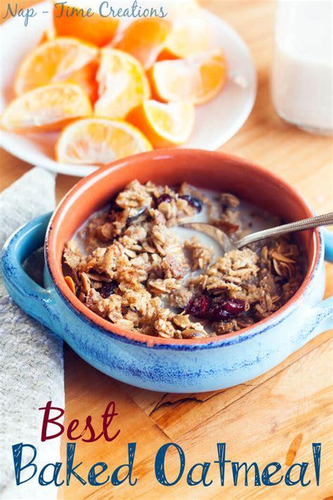 best baked oatmeal recipe best baked oatmeal recipe sew savory