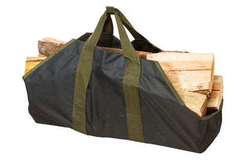 Fireplace Log Tote by Log Tote Fireplace Holder Wood Firewood Canvas Carrier
