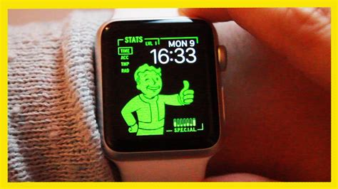 fallout wallpaper for apple watch how to turn your apple watch into a fallout pip boy youtube