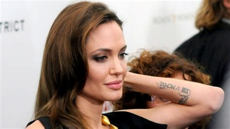 celebrity meaning bengali sacred fearless angelina jolie tattoo designs meanings