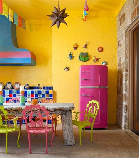 Bright Kitchen Color Ideas | 57 bright and colorful kitchen design ideas digsdigs