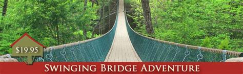 swinging bridge pigeon forge 78 best images about things to do in gatlinburg tn on