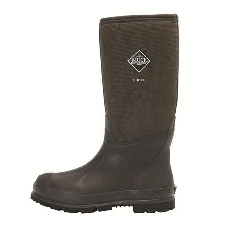 the muck boot company the muck boot company chore hi cool brown the original