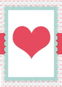 Free Valentines Card Templates by S Day Free Printables How To Nest For Less
