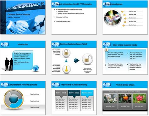 customer service powerpoint templates powerpoint customer service template