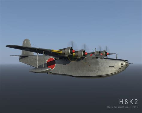 japanese flying boat ww2 h8k2 ww2 japanese flying boat made for warthunder by