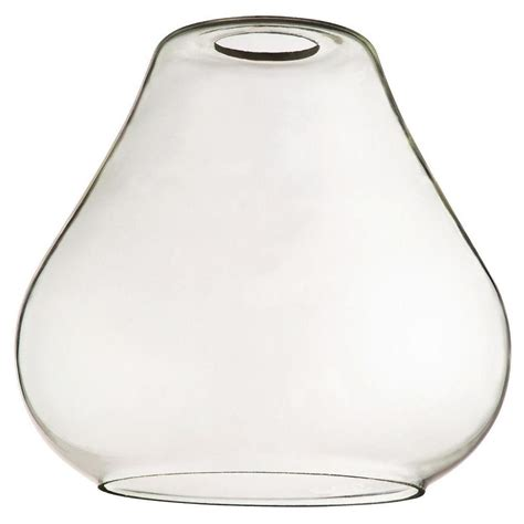 L Globes Home Depot by Westinghouse 7 In Clear Glass Open Teardrop Shade With 2