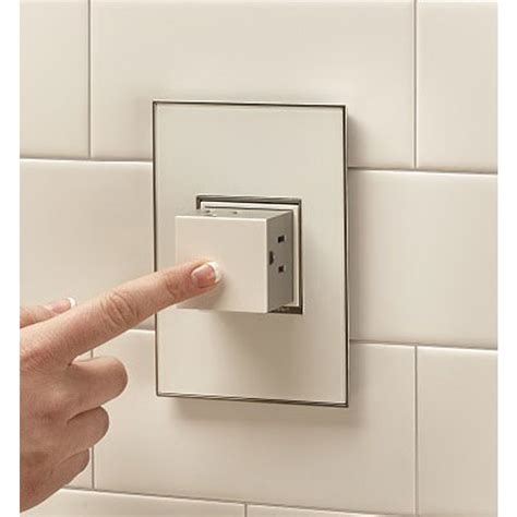 no power in bathroom outlets pop out white wall power outlet single gang