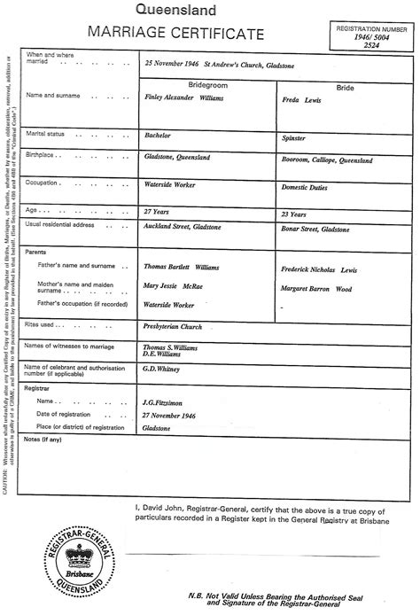 birth certificate design qld queensland birth certificate sle image collections