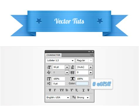 website ribbon tutorial quick tip how to create a simple vector web ribbon in