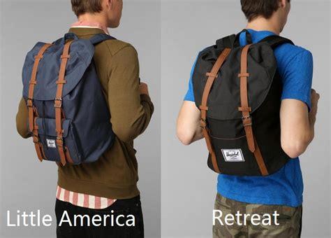 Original Herschel Retreat Mid Volume Backpack Black buy original herschel america and retreat