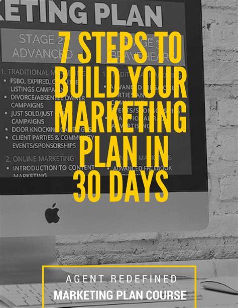 real estate agent marketing plan workbook download free