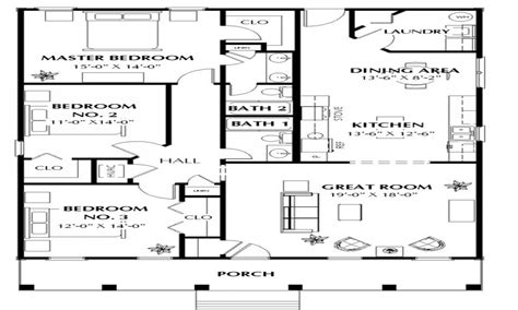 1500 square foot floor plans 1500 square house plans house plans 1500 square 40x40 house plans mexzhouse