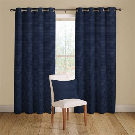 navy blue lined eyelet curtains 17 best images about august bedroom ideas on pinterest