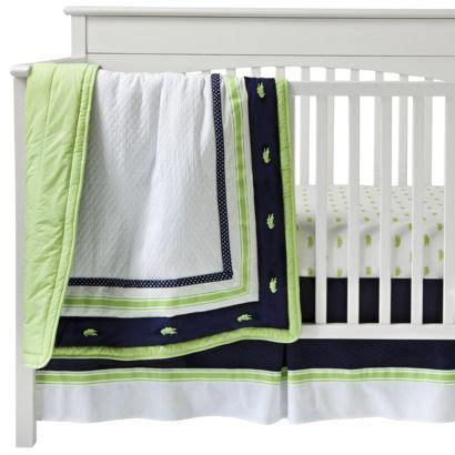 Alligator Crib Bedding by Nantucket 3pc Crib Bedding Set By Bananafish