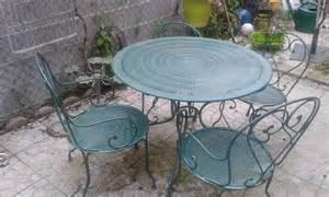 salon jardin fer forge clasf