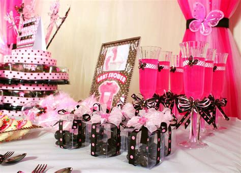 Brown And Pink Butterfly Baby Shower Decorations by Pink And Brown Butterfly Baby Shower Ideas Photo 5