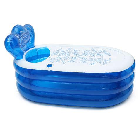 pvc bathtub honana bx 079 foldable blowup inflatable pvc bath tub home