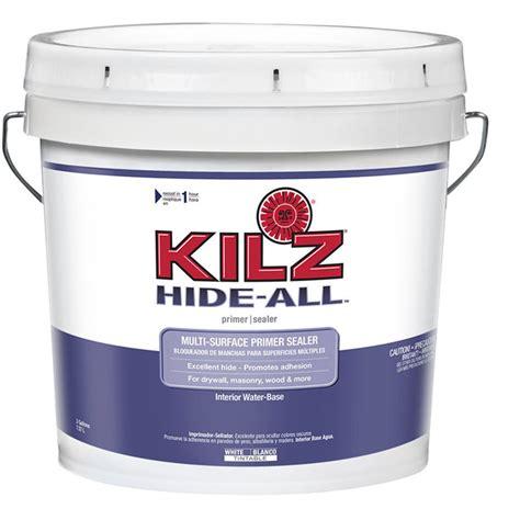 kilz bathroom paint shop kilz kilz hide all interior latex primer actual net contents 256 fl oz at