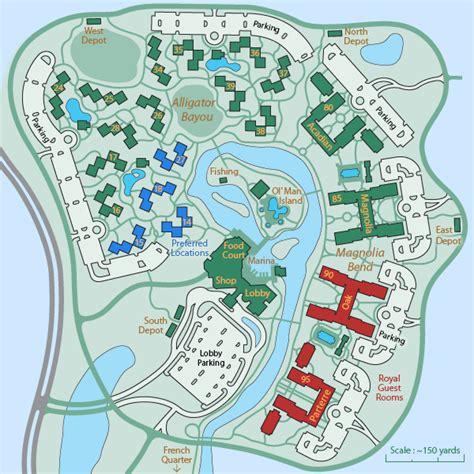 port orleans quarter map disney s port orleans resort riverside magical