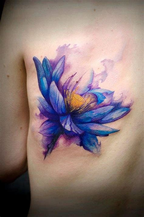 watercolor tattoos lotus best 25 watercolor lotus ideas on
