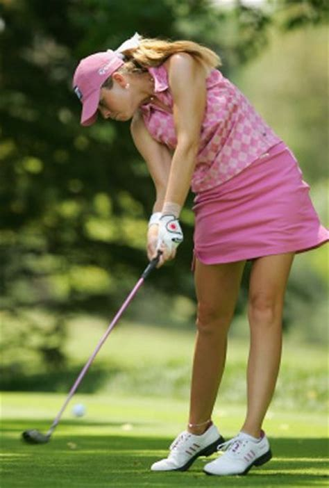 morgan pressel swing female golfer creamer paula creamer sports pinterest