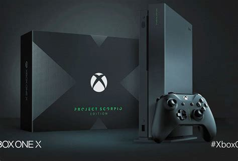 game console project x xbox one x project scorpio pre orders live uk