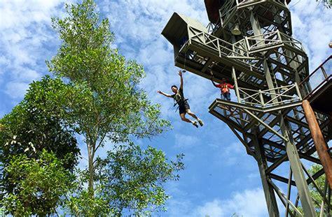 theme park penang when in penang give the escape adventure theme park a go