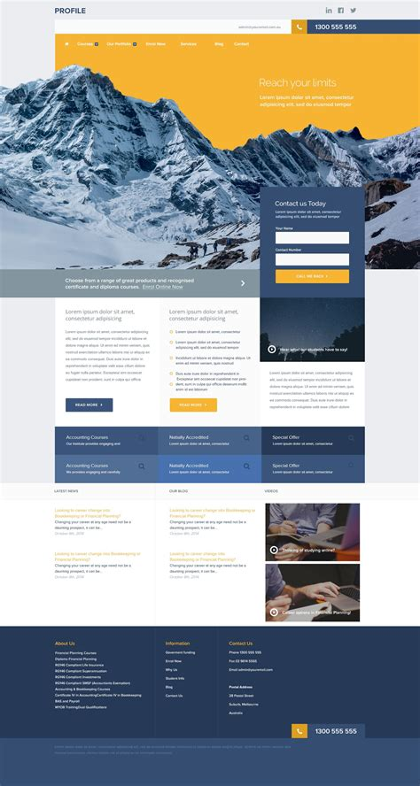 download layout majalah psd free psd download website template and web design