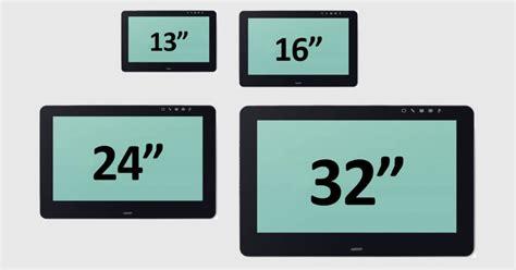 Hw Size 27 32 wacom announces a 32 inch cintiq pro graphics tablet