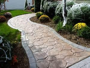 Repair Concrete Patio Decorative Concrete Walkways Porfolio 1 Deco Systems Of