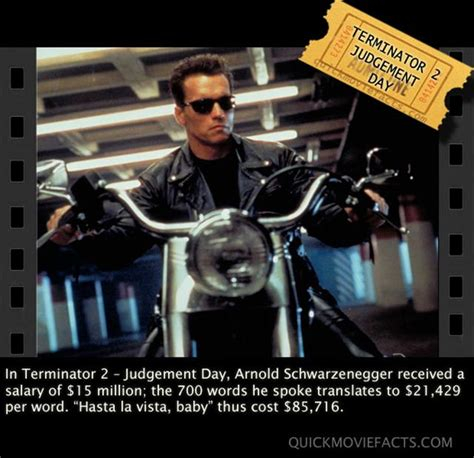 orphan film trivia arnold schwarzenegger s salary for 700 words quick movie