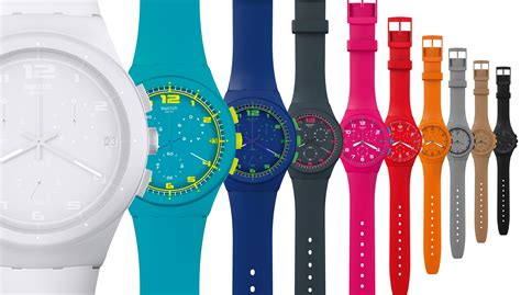 colorful watches swatch smartwatch may promise a six month battery