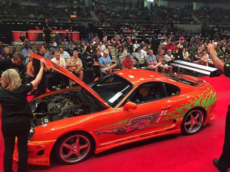 toyota supra fast and furious original fast and furious toyota supra sells for 185 000