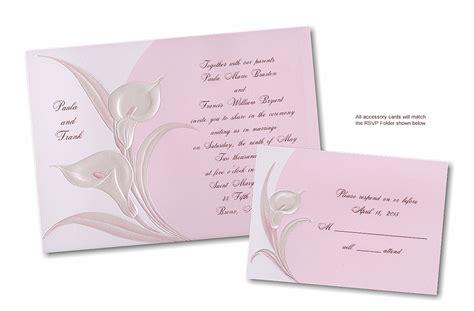 calla wedding invitations kit invitations 4 less invitations ideas