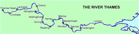 river thames map windsor barging in england barge cruises on the river thames