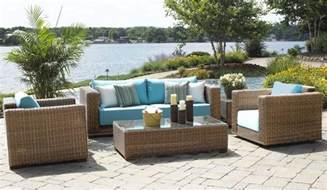 Outdoor wicker patio furniture santa barbara