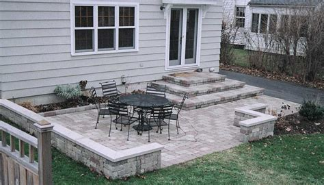 back yard patio ideas concrete patio ideas pinterest landscaping gardening ideas