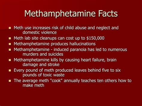Methhetamine Detox by Methhetamine Facts The Best Fact In 2017