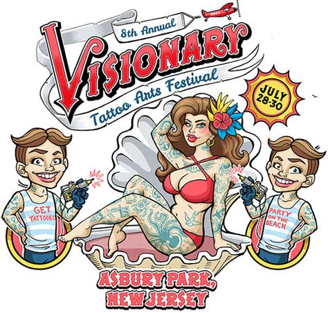 asbury park tattoo convention 2017 visionary arts festival asbury park nj