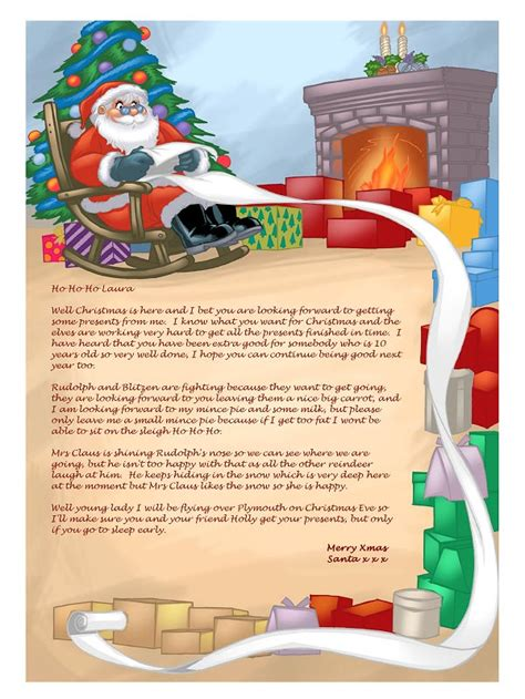 santa letter software create personalised letters