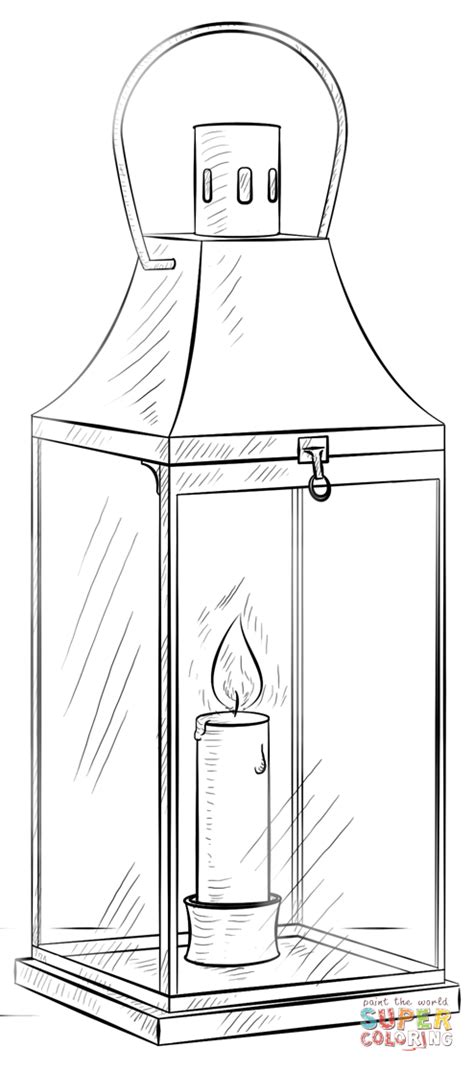 lantern coloring page free printable coloring pages