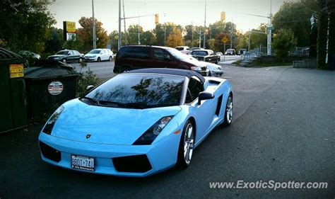 Lamborghini Price Canada by Lamborghini Gallardo Spotted In London Ontario Canada On