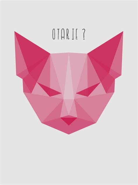 Origami Chat - origami t 234 te de chat hoodoo